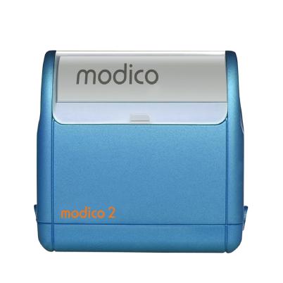 Tampon bleu automatique M2 impression