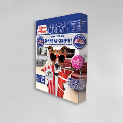 Exemple impression mur d'image droit tissu 3x3 - Pack