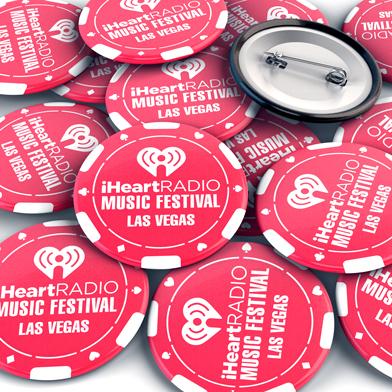 Exemple de badge bouton imprimé