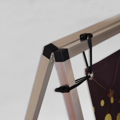 Angle barrière de stand imprimée
