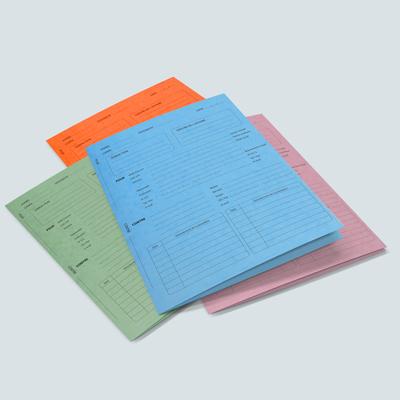 Pochette administrative imprimée