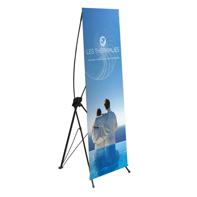 X-banner 60 x 160cm imprimé