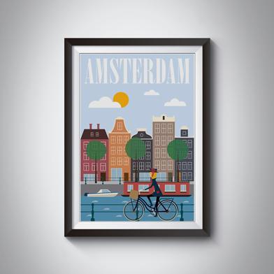 Exemple affiche imprimée